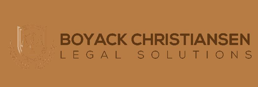 Boyack Christiansen Legal Solutions Logo